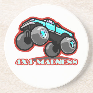 4x4 Guy: Off-road Monster Truck Drink Coaster