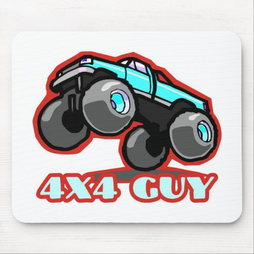 4x4 Guy: Off-road Monster Truck Mousepad