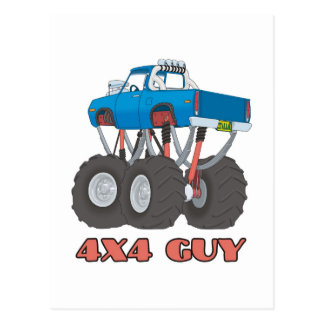 4x4 Guy: Off-road Monster Truck Postcards