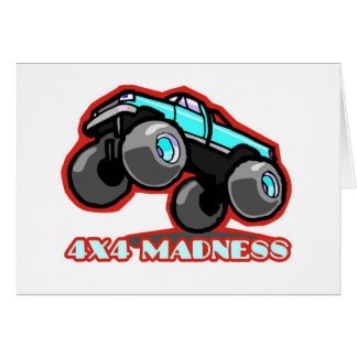4x4 Madness: Jumping off-road Monster Truck Card