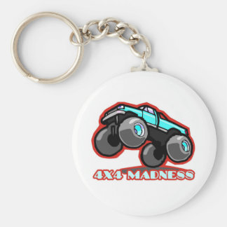 4x4 Madness: Jumping off-road Monster Truck Keychain