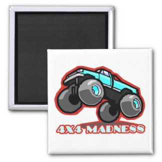 4x4 Madness: Jumping off-road Monster Truck Magnet