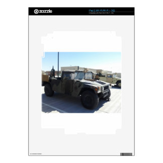 4x4 Military Ride iPad 2 Decals