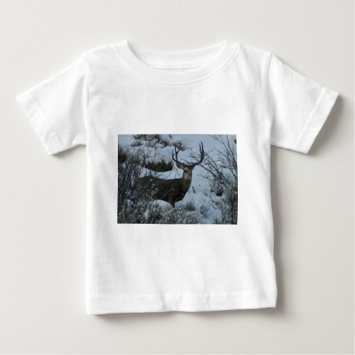 4X4 Mule deer Baby T-Shirt