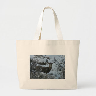 4X4 Mule deer Large Tote Bag