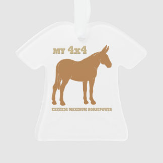 4x4 Mule Exceeds Horsepower