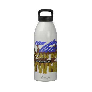 4x4 off road drive anywhere reusable water bottle