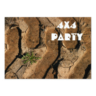 4x4 Party Card