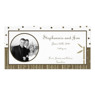 4x8 Engagement Photo Announcement Bamboo Bliss