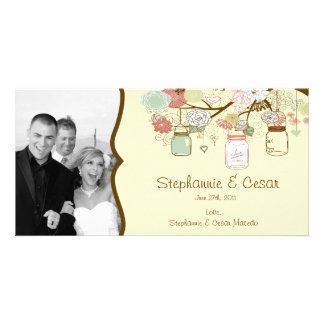 4x8 Engagement Photo Announcement Spring Floral