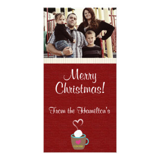 4x8 Hot Cup of Coco PHOTO Card