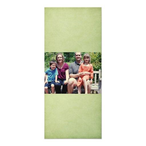 4x9 Family Photo Christmas Card Custom Invitations