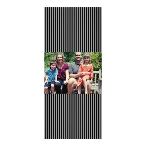 4x9 Family Photo Christmas Card Personalized Invitation