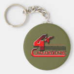 4xCruisers Club Gear Key Chain