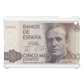 5000 Cinco Mil Pesetas Spain  iPad Mini Case