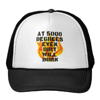 5000 degrees fire crew hats