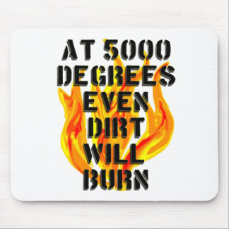 5000 degrees fire crew mouse pad
