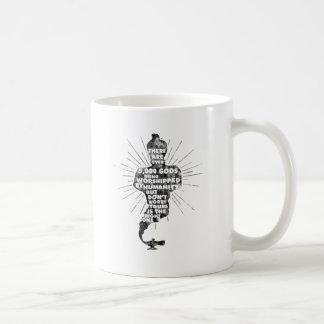 5000 dioses inútiles tazas de café