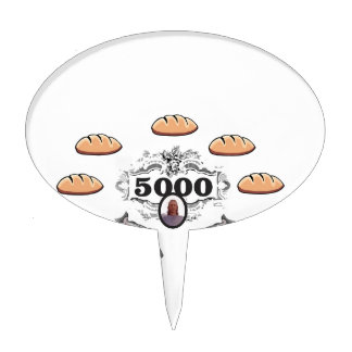5000 fed miracle jc cake topper