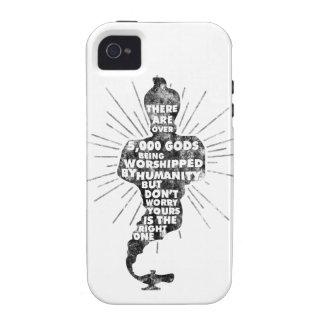 5000 Useless Gods iPhone 4 Cases