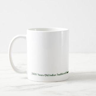 5000 Years Old Indian Traditional dance Classic White Coffee Mug