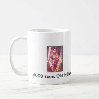 5000 Years Old  Indian Woman Image Coffee Mug