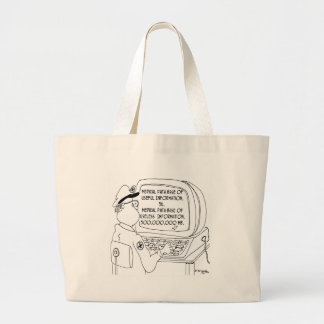 500,000,000 MB of Useless Information Tote Bag