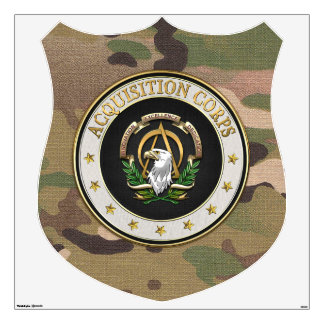 [500] Acquisition Corps (AAC) Branch Insignia [3D] Wall Decal