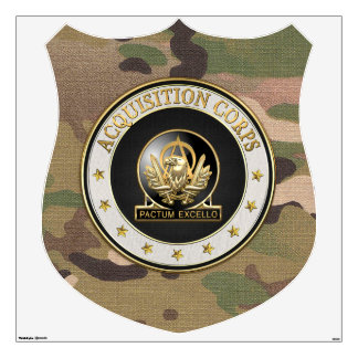 [500] Acquisition Corps (AAC) Regimental Insignia Wall Decal