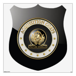 [500] Acquisition Corps (AAC) Regimental Insignia Wall Sticker