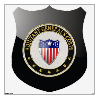 [500] Adjutant General's Corps Branch Insignia [3D Wall Decal