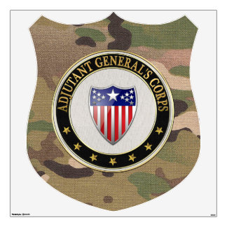 [500] Adjutant General's Corps Branch Insignia [3D Wall Sticker