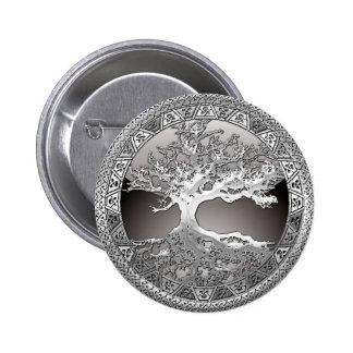 [500] Árbol de la vida céltico [plata] Pin