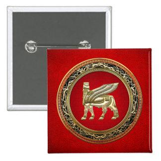 500 Babylonian Winged Bull Lamassu 3D Pins