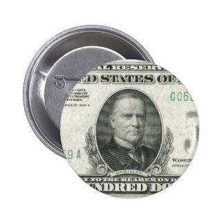 $500 Bill Pins
