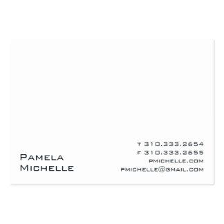 #500 blanco tarjetas de visita grandes
