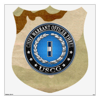[500] CG: Chief Warrant Officer 3 (CWO3) Wall Decal