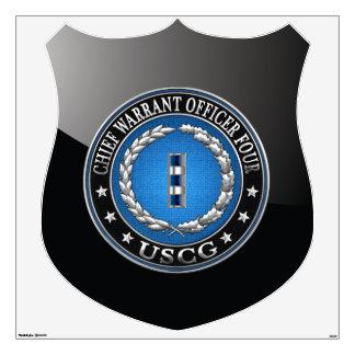 [500] CG: Chief Warrant Officer 4 (CWO4) Wall Sticker