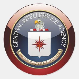 [500] CIA Special Edition Classic Round Sticker