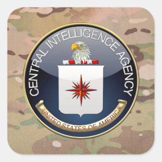 [500] CIA Special Edition Square Sticker