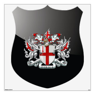 [500] City of London - Coat of Arms Wall Decal