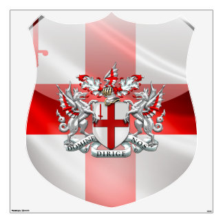 [500] City of London - Coat of Arms Wall Sticker