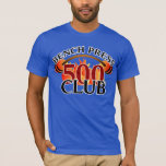 500 Club Bench Press Weightlifting Necklace T-Shirt