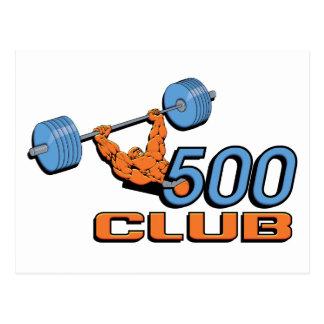 500 Club Postcard