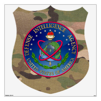 [500] Defense Intelligence Agency (DIA) Seal Wall Decal