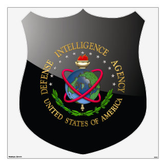 [500] Defense Intelligence Agency: DIA Special Edn Wall Decal