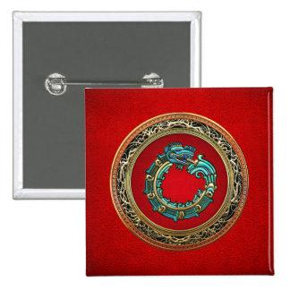 500 Dios Quetzalcoatl jade de la serpiente Pin