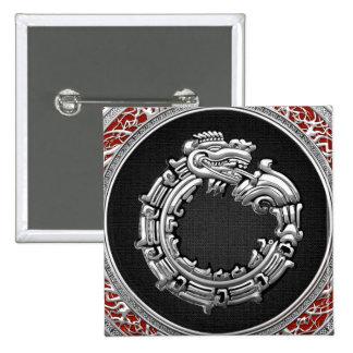 500 Dios Quetzalcoatl plata de la serpiente Pin