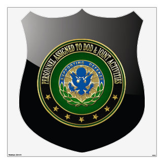 [500] DOD & Joint Activities DUI Special Edition Wall Decal