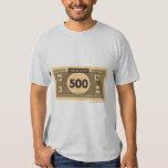 500 Dollar Bill T-shirts